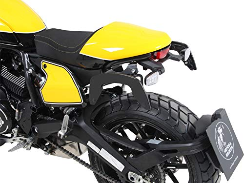 Hepco&Becker C-Bow Seitenträger - schwarz für Ducati Scrambler 800 (2019-)