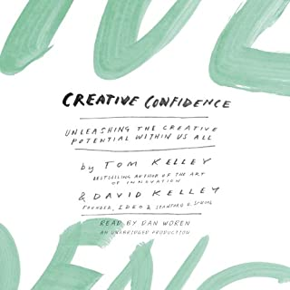 Creative Confidence audiobook cover art