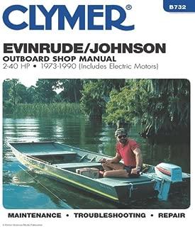 Evinrude/Johnson 2-40 HP OB 73-1990 (Clymer Marine Repair Series)