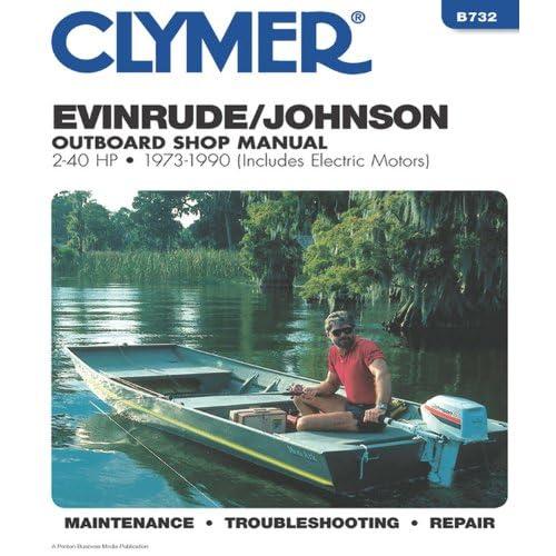 Johnson Outboard Repair Manual: Amazon com