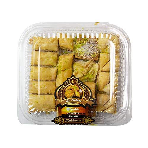 Baklava (Baklawa) Box - orientalisches Süßgebäck - gefüllt mit Nüssen (500g)