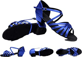 lcky Women's Latin Dance Shoes, Ballroom, Party Shoes, Casual high Heels