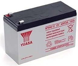 Yuasa 8889766400batería para UPS 12V 8,5Ah, NPW45–12(Faston 250–6,30mm)