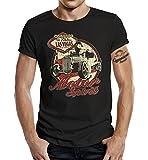 Gasoline Bandit Biker T-Shirt: Motor Spirit-L