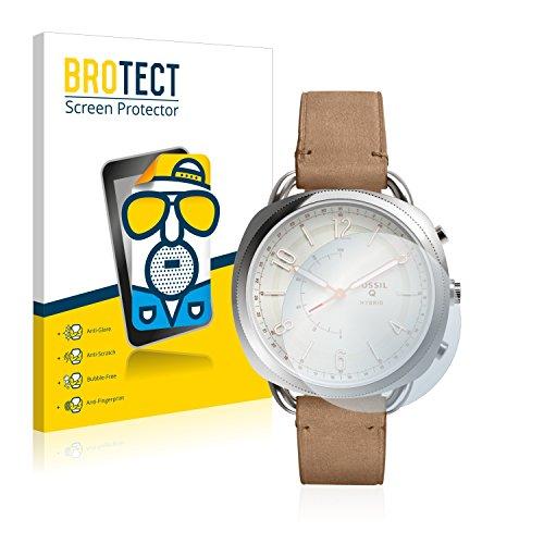 BROTECT 2X Entspiegelungs-Schutzfolie kompatibel mit Fossil Q Accomplice Bildschirmschutz-Folie Matt, Anti-Reflex, Anti-Fingerprint