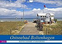 Ostseebad Boltenhagen - Sehnsuchtsort an der Ostsee (Wandkalender 2022 DIN A4 quer): Boltenhagen - das schoenste Ostseebad in Mecklenburg (Monatskalender, 14 Seiten )