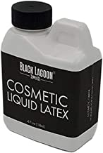 Cosmetic FX Liquid Latex 4.5 oz Jug - Developed For Sensitive Skin - Dries Clear! For Special Effects Makeup