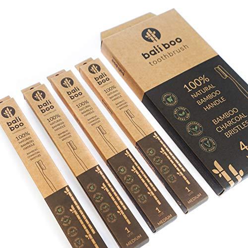 Cepillos de Dientes de Bambú de Bali Boo | Dureza MEDIA | P