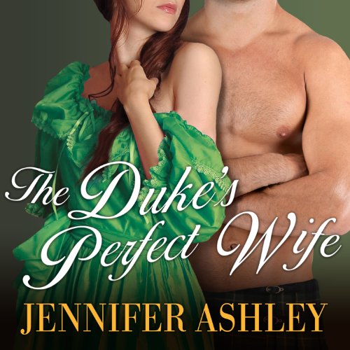 The Duke's Perfect Wife audiobook cover art