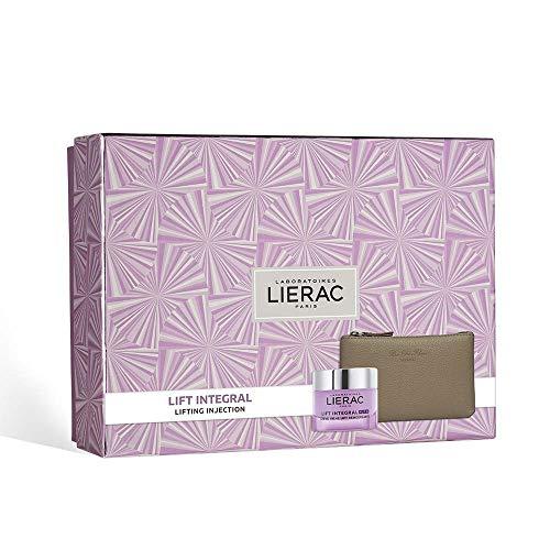 LIERAC Lift Integral Crema Nutri + Cofanetto + Pochette in pelle Rue des Fleurs