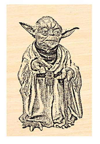 P63 Yoda Miniature Rubber Stamp
