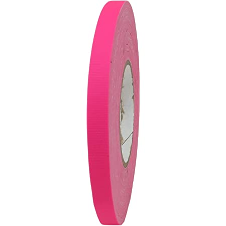 Available in Multiple Sizes and Colors. CGT-80F Fluorescent Gaffers//Spike Tape Laminated with Rubber Adhesive.60 Yards T.R.U Fluorescent Green, 1//2 in.