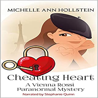 Cheating Heart, a Vienna Rossi Paranormal Mystery: A Vienna Rossi Paranormal Mystery  audiobook cover art