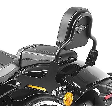 Sissy Bar CSXL Fix Kompatibel f/ür Harley Fat Bob 114 18-20 schwarz