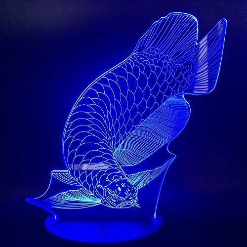 3D Lámpara de lámpara para habitación infantil pumpkin lámpara de escritorio creativa para cumpleaños Con carga USB, control táctil de cambio de color colorido