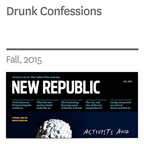 Drunk Confessions audiobook cover art