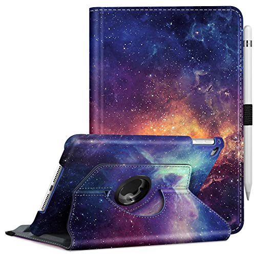Fintie Rotating Case for iPad Mini 4-360 Degree Rotating Stand Case with Smart Cover Auto Sleep/Wake Feature for iPad Mini 4 (2015 Release), Galaxy
