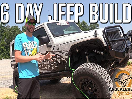 6 Day Jeep Build from Mall Crawler to Rock Crawler