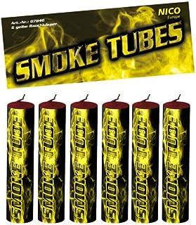 nico 6X Smoke Tube Rauchfackeln Rauchbomben Rauchgenerator Raucherzeuger Rauchtopf