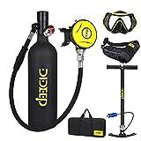 Sauerstoffflasche Tauchen Scuba Diving Mini Tauchflasche Tragbare Tauchausrüstung Tauchausrüstung...