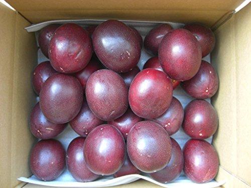 ご家庭用種子島産パッションフルーツ大玉混在バラ詰め2kg22玉前後