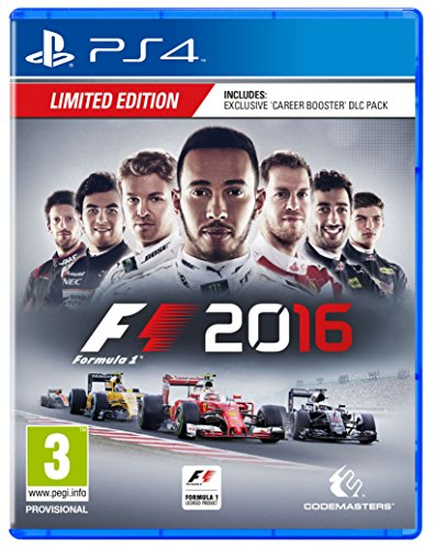 F1 2016 Limited Edition (PS4) [video game]