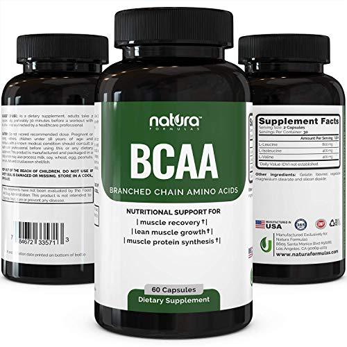 Natura Formulas BCAA Capsules
