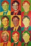 Fun - Bill Gates vs. Warhol - Fun-Poster - Grösse cm