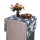Emoshayoga Paño Multiusos a Prueba de Polvo del refrigerador de la Mano de Obra estándar para la Lavadora(55 * 130cm 51x21inch)