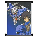 Mobile Suit Gundam 00 Setsuna F. Seiei Anime Fabric Wall Scroll Poster (16'x21') Inches