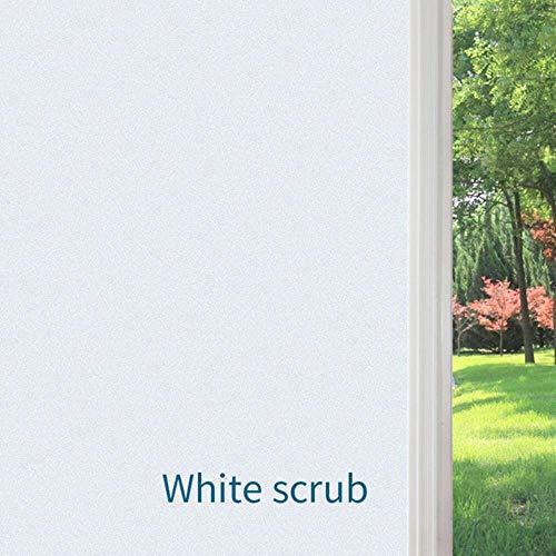 Merk Pure/White Frost Glas Films Hoge Kwaliteit PVC Ondoorzichtige Privacy Window Film Voor Home Decor Glazen Deur Geen Lijm 2020 Nieuwe, 40x200 cm
