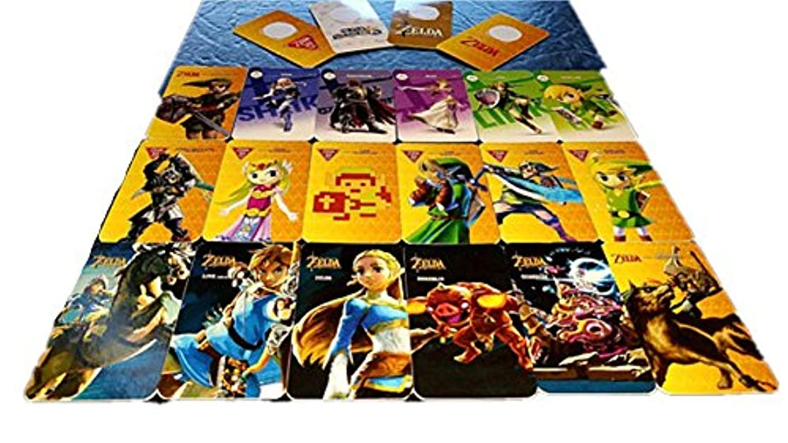 Amiibo Cards Legend of Zelda Breath of the Wild For Switch and Wii U Full Set Any 12 Sets