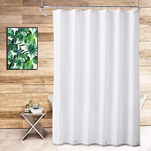 TreeLen Shower Curtain Liner,Hotel Collection Eco-Friendly 10 Gauge PEVA 72'x72' Waterproof/Water-Repellent Shower Curtain Liner for Bathroom
