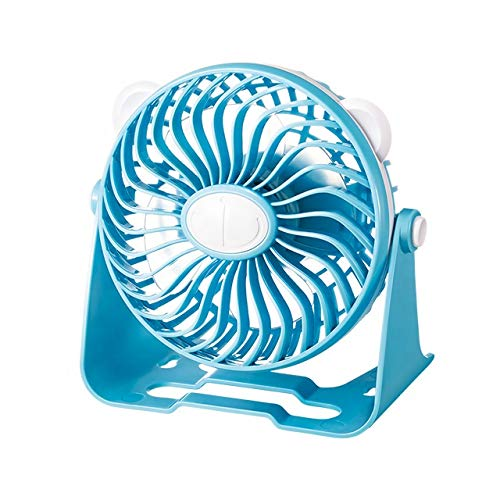 EVOLT Powerful Rechargeable Table Fan, table fans for home,table fans small,table fans for kitchen,table fans for home rechargeable,table fans high speed(Multicolor)