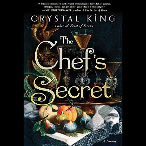 The Chef's Secret audiobook cover art