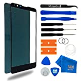 MMOBIEL Front Glass Replacement Compatible with LG Stylo 2 LS 775 5.7 Inch (Black) Display Touchscreen incl Tool Kit