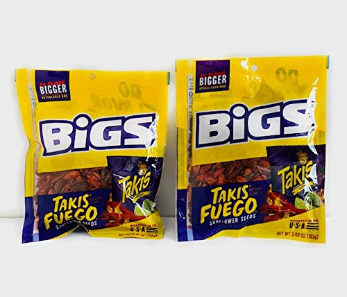 Takis Fuego- Hot Chili Lime Flavor Sunflower trend rank Huge 2-pack 3 Cheap mail order sales Seeds