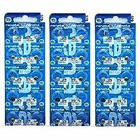 30 X Silver Oxide Watch Battery 379 SR521SW 521 1.55Vbrand 379 521 battery