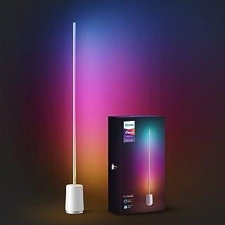 چراغ طبقه گوشه ای Govee Lyra ، فناوری RGBIC لبه ، لامپ مدرن Futurist ، 25 ایستگاه از پیش تنظیم روشنایی جذاب ، حالت های موسیقی راکتیو ، حالت خلاقانه DIY ، کنترل صدای بی دردسر