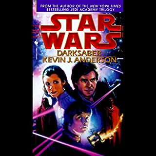 Star Wars: Darksaber audiobook cover art