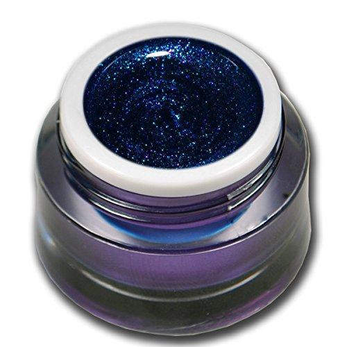RM Beautynails Premium UV Glit tergel Summer Night de Dark Blue 7 Bleu foncé 5 ml gel uv Gels professionnel pigments pas absenken la très grande opacité...