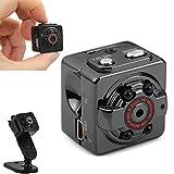 Minicámara espía HD 1080P - Deporte - Interior o exterior - Portátil - Grabación de vídeo y voz con visión nocturna por infrarrojos