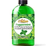 2oz - Artizen Peppermint Essential Oil (100% Pure & Natural - UNDILUTED) Therapeutic Grade - Huge 2 Ounce Bottle - Perfect for Aromatherapy