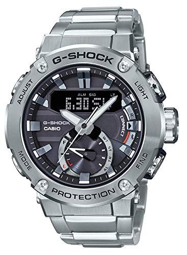 CASIO(カシオ) 腕時計 G-SHOCK ジーショック G-STEEL ソーラー カーボンコアガード構造 GST-B200D-1A メンズ [並行輸入品]