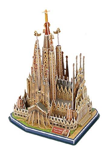 La Sagrada Familia en puzzle 3D