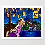 Amrzxz DIY-Linterna Pintura al óleo Digital, Kit para Adultos y niños, Lienzo para Pintar al óleo manualidad decoración doméstica(sin Marco) 40x60cm