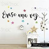StarStick - Vinilo Escuela Érase una vez - Vinilos bibliotecas - T1 - Pequeño 65x30 cm