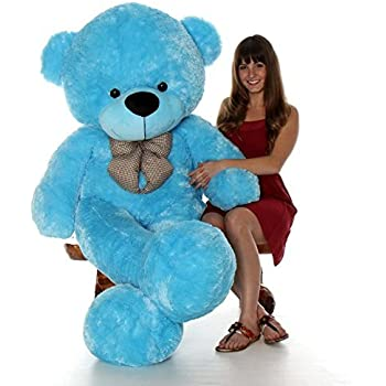 NP Toys Premium Quality Stuffed/Fluffy/Spongy Huggable Cute Teddy Bear Special Gift for Birthday Gifts/Girls/Lovable/Valentine/Anniversary (2 Feet, Blue)