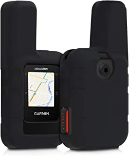 kwmobile Case Compatible with Garmin inReach Mini - GPS Handset Navigation System Soft Silicone Skin Protective Cover - Black