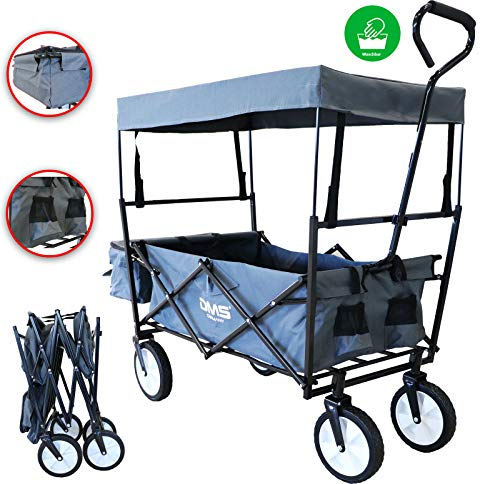 Bester der welt Beinhaltet DMS® Handwagen, faltbare Dachwagen, Handwagen, Versandwagen, Ausrüstungswagen |  Mit zwei Netztaschen…